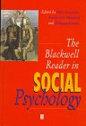 The Blackwell Reader in Social Psychology, , 0631199977