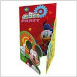 Mickey Mouse Clubhouse Shaped party invitations, pack of ()