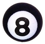 Coolballs 8 Ball Antenna Ball Topper