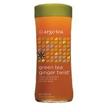 Argo Tea Tea Green Ginger Twist 13.5-Ounce (Pack of 72) by Argo Tea