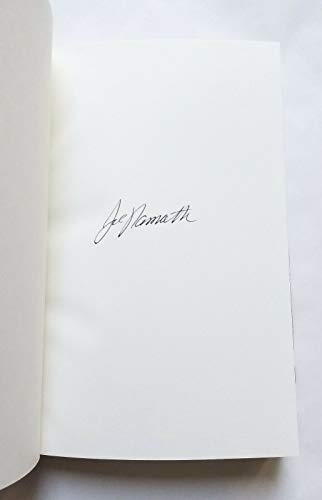 (Joe Namath REAL hand SIGNED All The Way hardcover book #2 NFL Football QB 1st Ed)