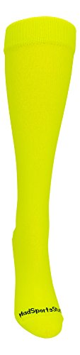 Neon softball socks girls
