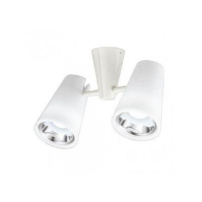 LEDスポットライト 一般形 5.7W フレンジタイプ 白熱灯60W×2灯相当 光束412lm 配光角58°樹脂(乳白)   B07S1SFMTM