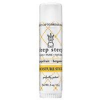 Deep Steep Moisture Stick, Grapefruit Bergamot , 0.5 Oz Sea Breeze Facial Cleanser for Sensitive Skin, 10 oz., Pack of 3