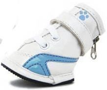 New Blue Fou-ma Booties Designer Shoes for Dogs Size 1