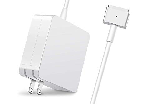Fvgia Macbook Pro Charger, 60W T-Tip Replacement Macbook Magsafe 2 Charger, Magnetic AC Power Adapter for Macbook Pro and Macbook