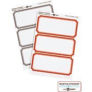 Martha Stewart Home Office with Avery Removable Labels 18 Labels 3 3/4 in x 1 5/8 in 9,5 cm x 4,1 cm