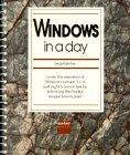 img - for Windows in a Day book / textbook / text book