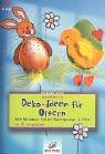Deko- Ideen für Ostern. Mit Window- Color, Samtpuder und Filz.