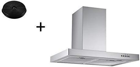 respekta CH22098IXB+MIZ0023 - Campana extractora (60 cm, incluye filtro de carbón activo): Amazon.es: Grandes electrodomésticos