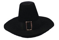 WMU Distortions Unltd Halloween Party Puritan Hat Qual Large