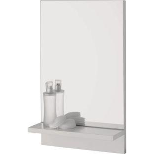 High Quality Rectangular Bathroom Mirror With Wooden Shelf Amazon