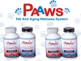 Paaws Dog Vitamins: Age 7 Years & Over, 35-60lbs, Buy 3 Months, Get 3 Months Freeth 6 Months Free by PAAWS
