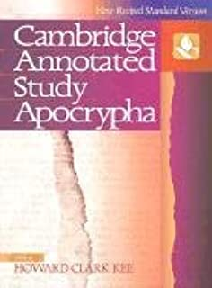 The nrsv cambridge annotated study apocrypha howard clark kee the nrsv cambridge annotated study apocrypha howard clark kee 9780521508759 amazon books fandeluxe Choice Image