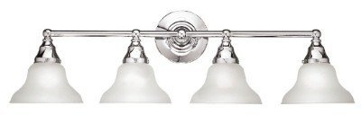 (World Imports Wi260208 Asten 4 Light Bath Bar In Chrome)