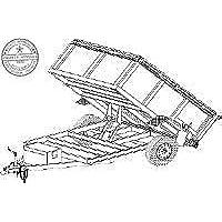 amazon best sellers best trailer blueprints Aluminum Horse Trailer Steps hydraulic dump trailer blueprints 8 x 5 model ad08