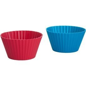 Trudeau Silicone Muffin Cups, X-Large 6 ounce , Set of 4 by Trudeau