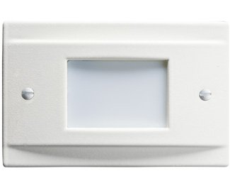 Kichler 12665WH Step and Hall 120V LED Step Light Non-Dimmable, White by KICHLER