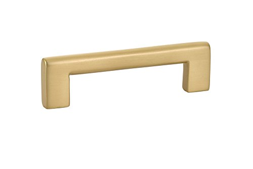 Emtek 86441 Trail Pull Satin Brass (18'' Center-to-Center Appliance Pull)