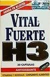 Vital Fuerte H3 Antioxidant 30 Capsules - Antioxidante Discount