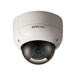 "Samsung SCV-2080R Security-camera Analog-camera Fixed Domes 1/3"" High Resolution IR Vandal-Resistant Dome Camera"