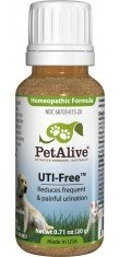 PetAlive UTI-Free for Cat and Dog Urinary Tract - 0.71-Ounce - (Pack of 3)