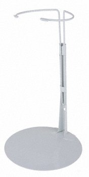 Kaiser Doll Stand 3101 - White Doll Stand for 15
