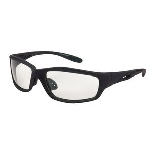 Crossfire Safety Glasses, Infinity Clear Lens, Blk - Frames Glasses Infinity