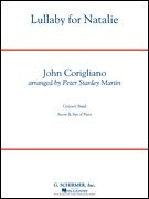 Download Lullaby for Natalie: John Corigliano - Score and Parts PDF