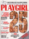 Playgirl Magazine June 1998 25th Anniversary issue with Brad Pitt, Matt Daman, others; Terrific nudes from all 25 years! Best Issue EVER! ()