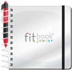 Fitlosophy Fitbook Junior: Interactive Journal to Teach Kids Goal Setting for an Active and Healthy Life by Fitlosophy