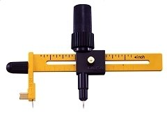 Olfa CMP1DX Deluxe Compass Cutter inc 5 Extra Blades Cut