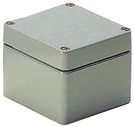 Industrial Grey RoHS Compliant: Yes 01.08 08 06 Enclosure 80 mm Pack of 2 IP66 75 mm 57 mm Aluminium 01.08 08 06