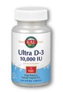 KAL 10000 Iu Ultra D-3 Tablets, 120 Count