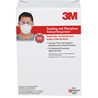 3MProducts Respirator Valve Snd/Fiber10Pk, Sold as 1 Package, 10 Each per Package