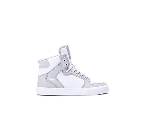 Supra uomo Sneaker S18091 White Grey Lt Skytop q7wgvxCqA