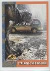 Stalking the Explorer (Trading Card) 1993 Topps Jurassic Park #34