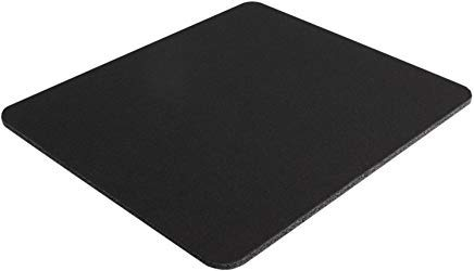 Belkin Standard 8-Inch by 9-Inch Computer Mouse Pad with Neoprene Backing and Jersey Surface (Black) (F8E089-BLK10) 10 Pack