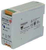 Carlo Gavazzi, Inc. SPD244801 Power Supply; AC-DC; 24V@20A; 90-265V In; Enclosed; DIN Rail Mount; PFC; SP Series