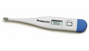 Thermometer, Disposable, 60 Second, Bulk, 240/CS