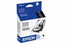 Epson T048120 48 Inkjet Cartridge -Black - Jet Ink Cartridge Cartridges