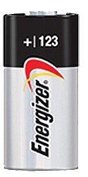 Energizer EVEEL123APB2 Lithium Photo Battery for Digital Cameras, 3 VDC.
