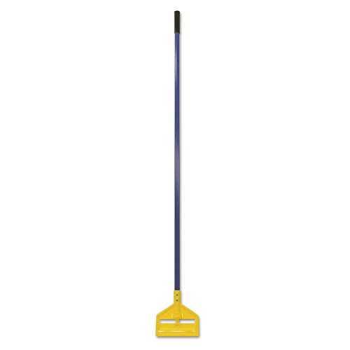 Fiberglass Head Plastic Handle - Rubbermaid Commercial invader 60 Inch Fiberglass Wet Mop Handle, Blue (FGH14600BL00)