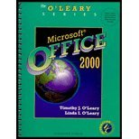 MS Office 2000 Enhanced Edition, O'Leary, Timothy and O'Leary, Linda I., 0072499540