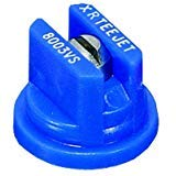TeeJet XR Extended Range Spray Nozzle XR8003VS - 80° - 0.3 GPM - Blue (Pack of 12) ()