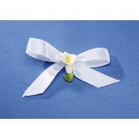 Wedding Lilly Flowers Favor - WHITE CALLA LILY FAVOR BOW 100 Piece