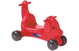 Puppy Dog Ride - On / Walker with Handles in Red by (Careplay Puppy)
