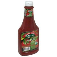Muir Glen Organic Tomato Ketchup Plastic Bottle - 24