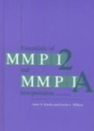 Essentials of MMPI-2 and MMPI-A Interpretation, Second Edition 2nd (second) Edition by Butcher, James N., Williams, Carolyn L. published by Univ Of Minnesota Press (2000)