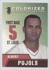 Albert Pujols (Baseball Card) 2007 Merrick Mint Colorized Quarter Collection - Fact Cards #ALPU